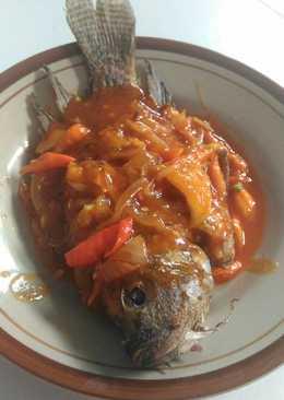 Nila asam manis pedas#beranibaking