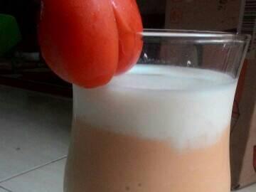 Smoothies Ubi soo Cream #IndonesiaMemasak