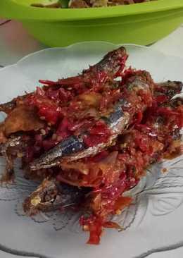 Sambal ikan keranjang