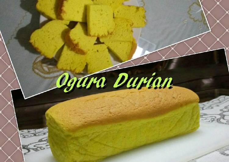 Resep Cake Durian Jtt: Resep Ogura Durian Oleh Shanti Kusumasari