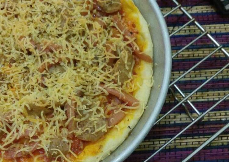 Resep Simple Pizza (bekal sekolah) - Rina Primadha