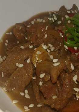 Beef Sauri Saus Teriyaki ^^