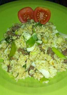 Nasi Goreng Kari Sapi