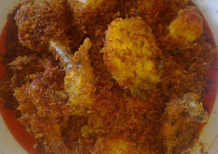 80 Gambar Ayam Serundeng Kekinian