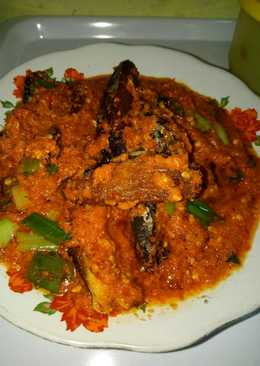 Tongkol mandi sambal