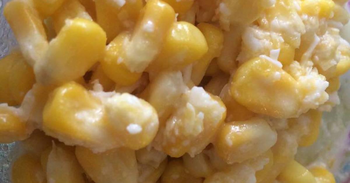 resep jagung keju leleh ala freshdailly oleh novia chan