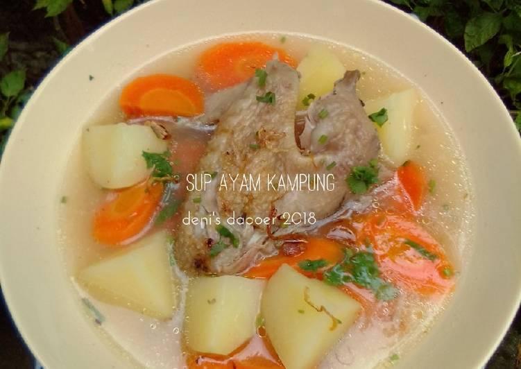 Sup ayam kampung #BikinRamadhanBerkesan