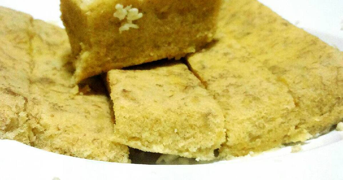 Resep Banana Cake Khas Jepang: Resep Banana Cake Kukus Praktis Oleh Widya