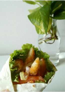 Chicken nugget kebab