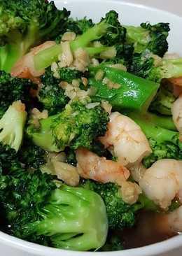 Brokoli cah udang