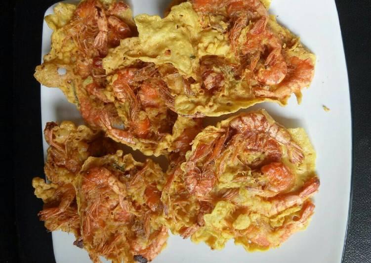Resep Peyek udang kriuk Kiriman dari Dapur Arin