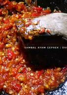 Sambal Ayam Geprek (Level Monyor)