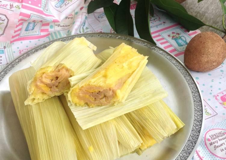 Resep Tamale Pisang Jagung - fresh Karya Firda@home