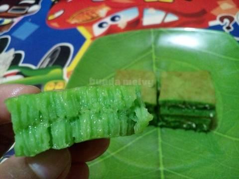 Terang Bulan pandan teflon eggless (no proofing) #KamisManis