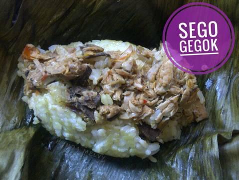 Sego Gegok (Nasi Gegok) #RabuBaru
