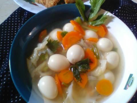 5.Soup telur puyuh bumbu sedeeep#Bikinramadhanberkesan