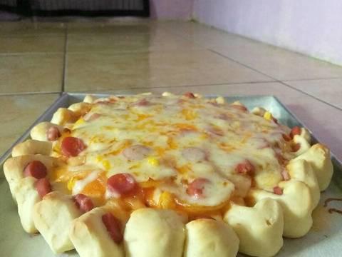 Pizza mozarella irit bahan #BikinRamadanBerkesan