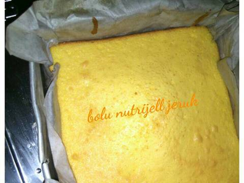 Resep Bolu Nutrijell Nutrisari Jeruk Empuk Kempus No Bakingsoda Bp Nellia Fadllan Koleksi Resep Sederhana Praktis