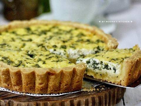 Spinach Cheese Quiche