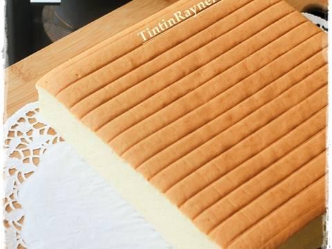 Resep Ogura Cake Cheese Cottony Cake oleh Tintin Rayner - Cookpad