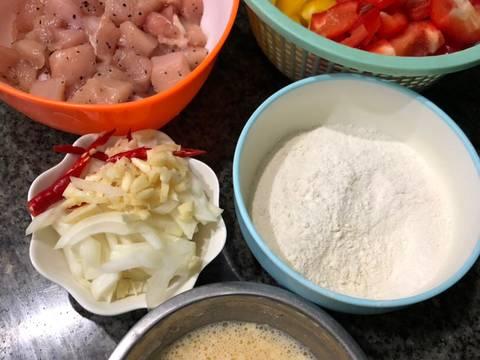 Ayam Asam Manis (Ayam Koloke)🍗🍗 recipe step 1 photo