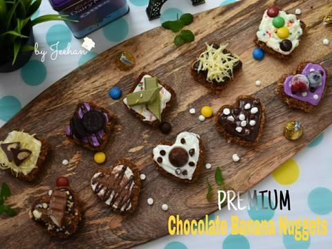 PREMIUM Banana Chocolate Nuggets