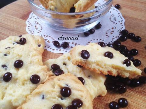 Milky chocochips cookies recipe step 5 photo