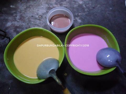 Dadar Gulung Polkadot (No Telur No Santan)