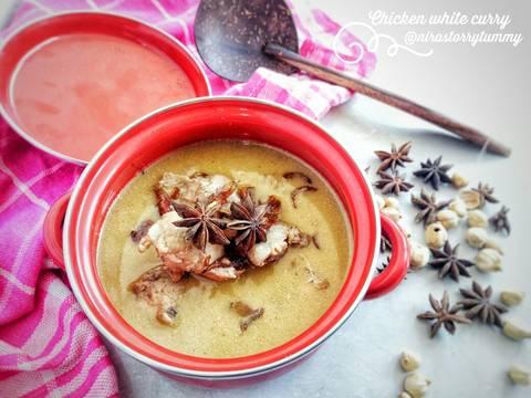 Chicken white curry #bikinramadanberkesan #selasabisa