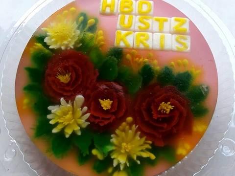 Resep Puding Jelly Art Versi Puding Ultah Oleh Aqeela Qeela