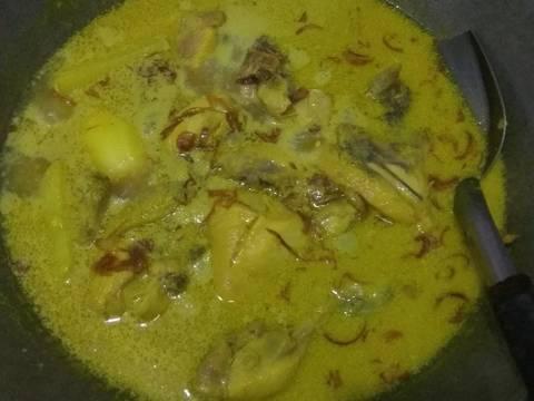Opor Ayam kentang #RabuBaru