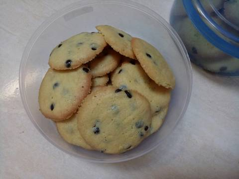 Vanila chocochip cookies #bikinramadhanberkesan3