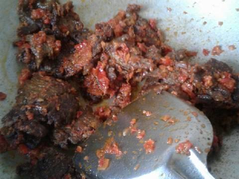 Balado daging sapi