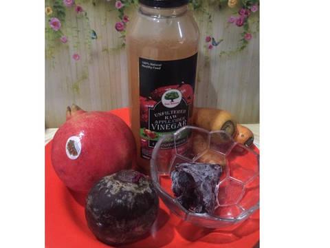 Diet Juice Pomegranate Beetroot Blackcurrant Carrot Apple Vinegar