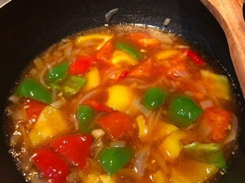 Ayam Asam Manis (Ayam Koloke)🍗🍗 recipe step 3 photo