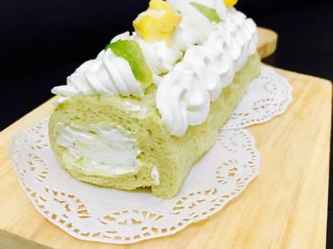 Resep Es Teller Roll cake (No Oven) - DKitchen- al-islams