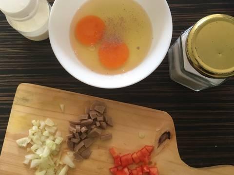 Scrambled egg (microwaved)