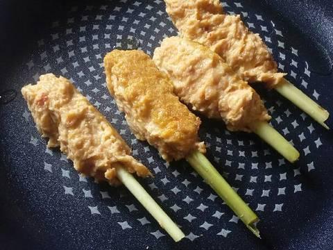 sate ayam ikan lilit