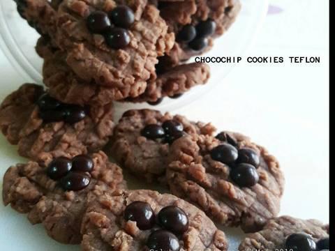 Chocochip cookies teflon (1 telur)