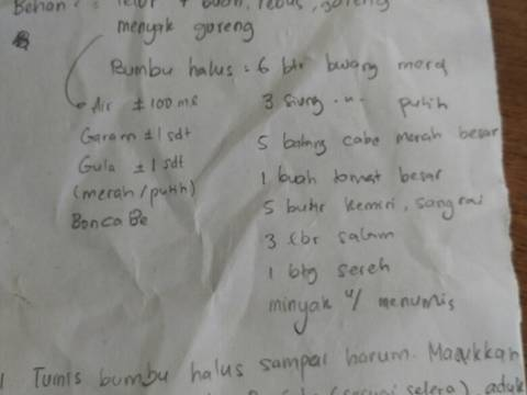#6. Telur balado ex.pedaas #Selasabisa