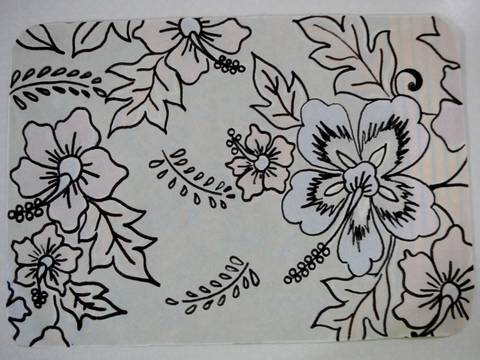 Lukisan Batik Untuk Diwarnai Cikimmcom
