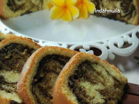 Butter Marble Cake (Marmer Cake by Law Thomas)