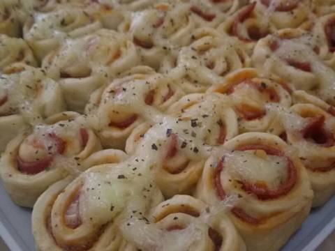 Homemade Pizza Roll