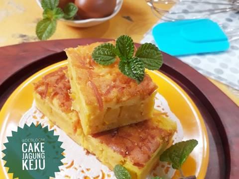 437. Cake Jagung Keju #RabuBaru #BikinRamadanBerkesan