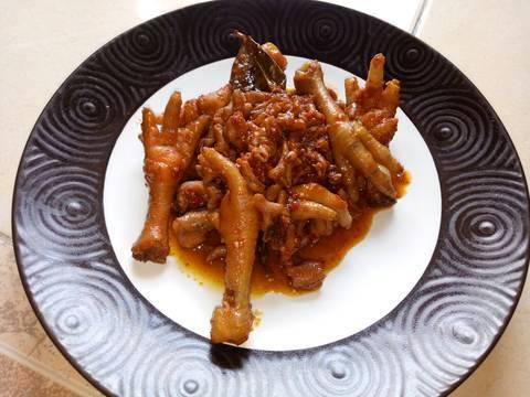Usus Ceker Ayam Pedas ala Deyarl Kitchen