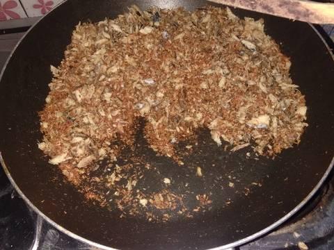 Mpasi abon ikan Tuna cepat dan simpel buat 8month no Gula Garam
