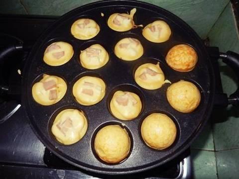 Cetakan Kue Takoyaki Dan Lobayaki Bulat 15 19 Lubang Ball