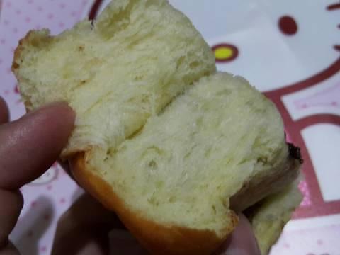 Roti gulung nutella keju