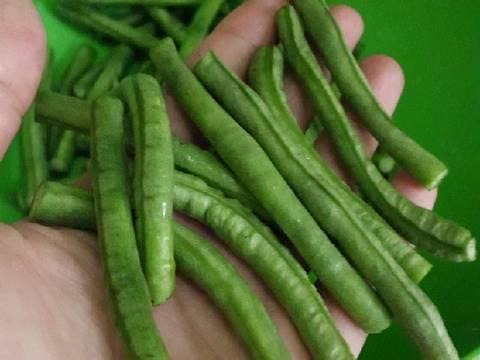 Gulai kacang panjang ala minang #BikinRamadanBerkesan #1