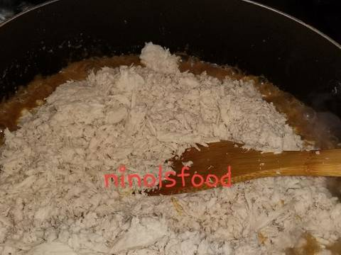 Abon Ayam no Santan recipe step 5 photo